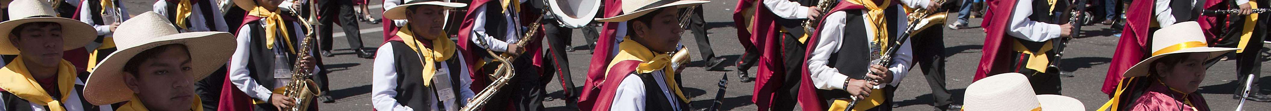 Arequipa 2012 Day Parade - Banner