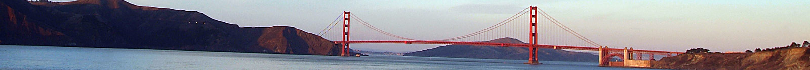 Golden Gate Bridge - Banner