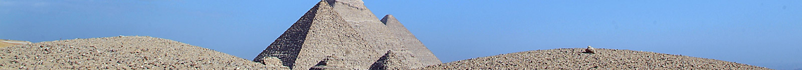 Egypt, Great Pyramids.