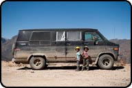 Chevrolet Gladiator G20, The boys in Cordillera Blanca, Peru.