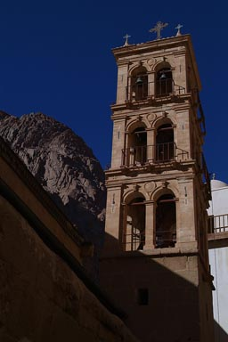 Saint Catherin's monastery clock tower, Sinai.