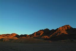 Sinai last light of the day.