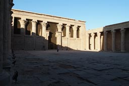 Square inside Edfu Temple.