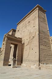 Temple of Philae-Pylon, Egypt.