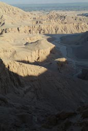 Two canyons north of Valley of the kings.