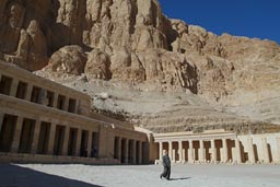 Hatshepsut temple, rock escarpement.