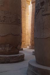 Columns in light, Karnak Temple