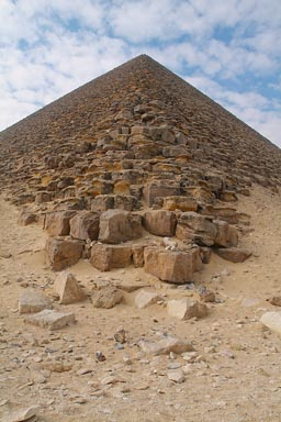 Red Pyramid Dashur, Egypt.