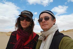 Christina and me, Egypt.