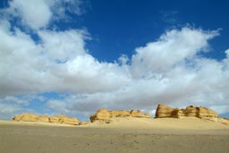 Cliffs and Sand.
