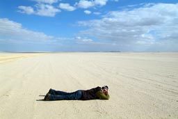 Me on the ground.