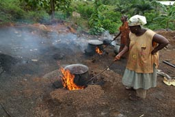 2 old African Women, Palm Oil Extradition