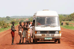 MB207 in Mali past Nioro du Sahel.