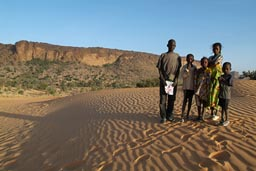 Peul/Fulani kids in Dogon land.