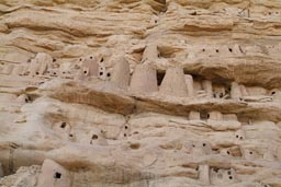 Tellem houses, Irelli. Dogon Land.