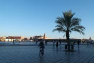 Jemaa El Efna, early morning.