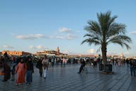 Jemaa El Efna, evening.