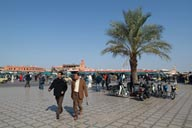 Jemaa El Efna, later.