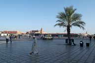 Jemaa El Efna, morning.