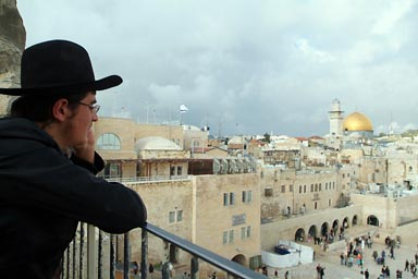 Haredi, Dome of the Rock.