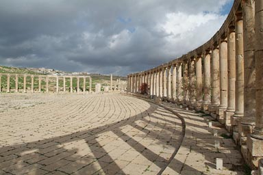 Jerash. Oval Forum.