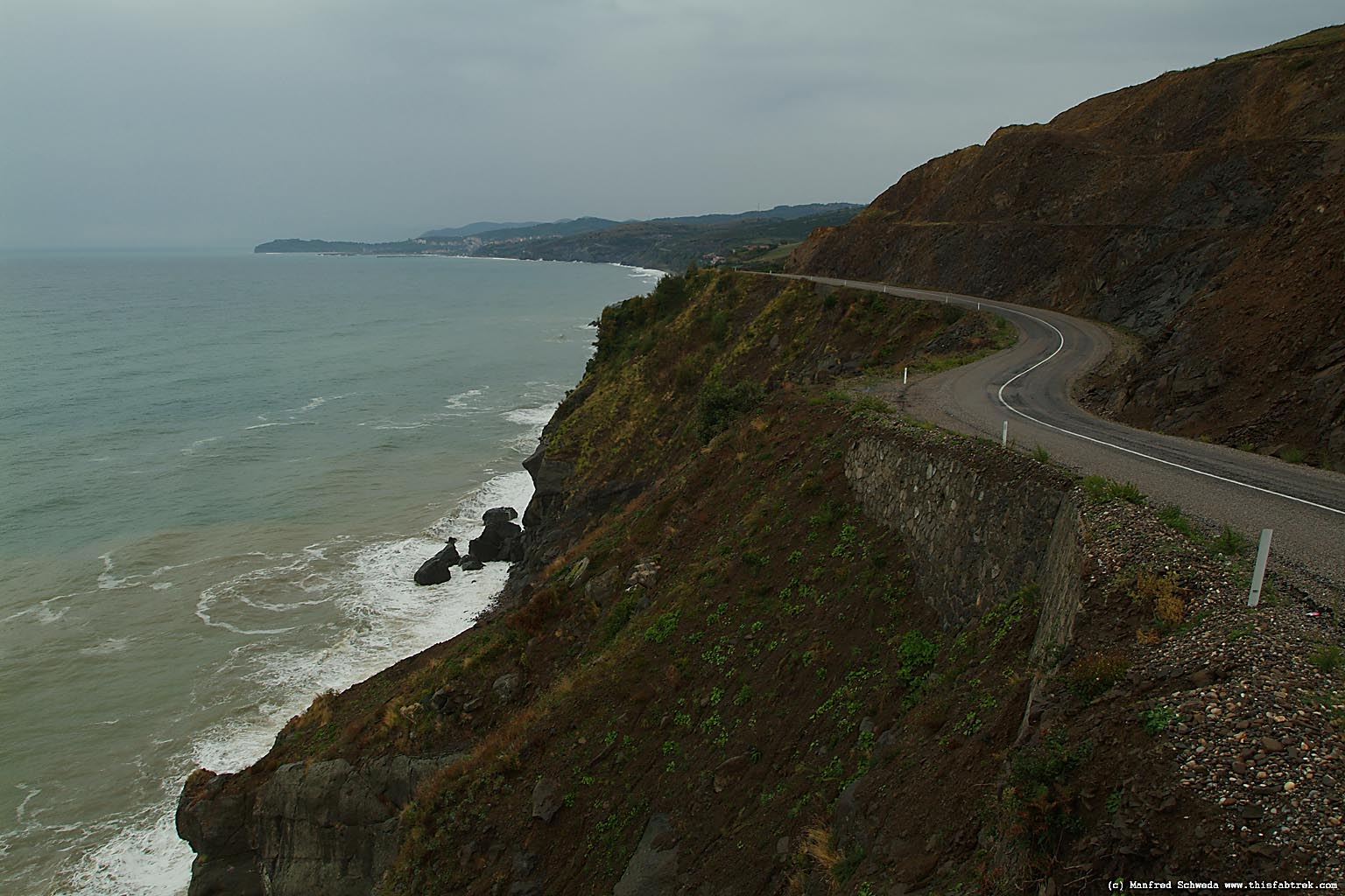 Black Sea coastal road Photography and Journey