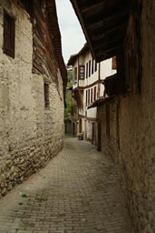 Alley Safranbolu, Ottoman preserved houses, Turkey.
