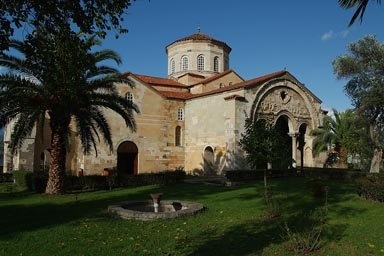 Hagia Sophia, church, Trabzon, 13th century. Late Byzanthin. Frescos.