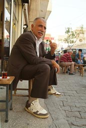 Man and tea. Turkey.