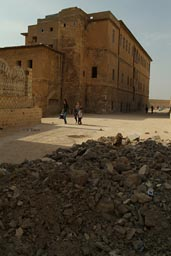 Mardin, Turkey, a lot of reconstruction going on.