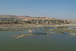 Cizre and Tigris, Border Turkey Syria.