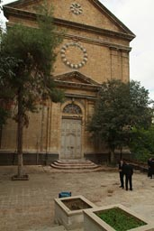 Armenian church, bullet holes? Gaziantep.