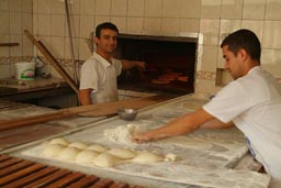 Turkish Pizza. Gaziantep.