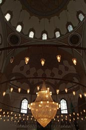 Konya Sultan Selim-mosque, lights up.
