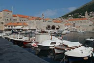 Boats in harbour, Dubrovnik.
