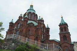 Helsinki, orthodox Uspenski Cathedral.