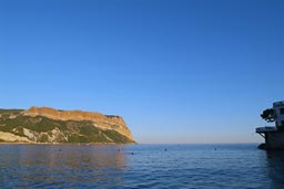 The great rock of cassis.