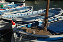The boats of Cassis fishing port. Aug2010.