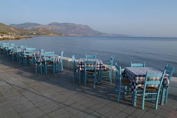 Kissamos, water front.