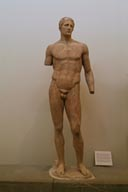 Statue of Hagias - Hagias was an athlete, and this is a marble copy of a bronze statue made by Lysippos in 340 BC