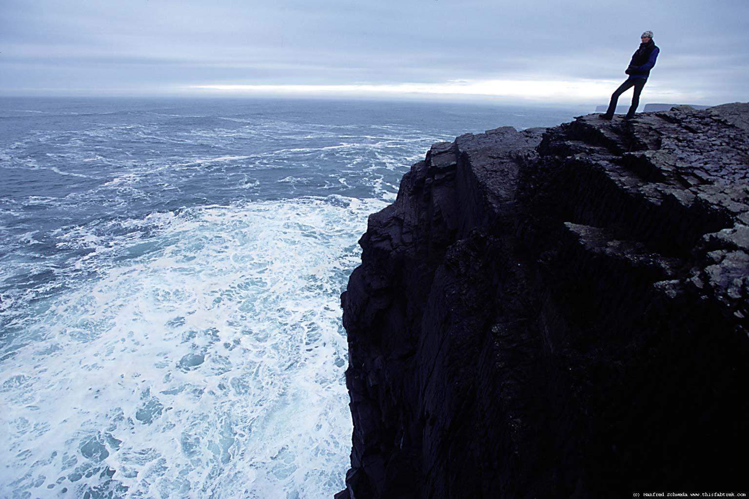 Dark Cliff Edge