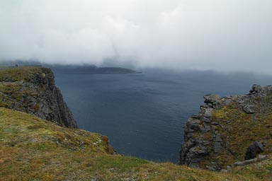 North Cape, view to west.