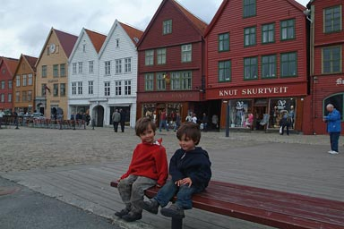 The boys in Bergen.