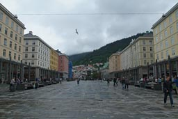 Bergen main street, nice and boring.