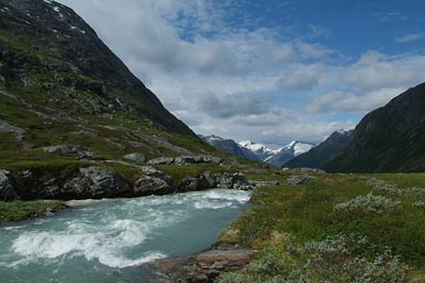 Norways alpine region.