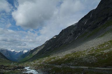 Up to Strynefjellet.