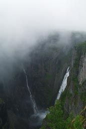 Veringfossen Waterfalls.