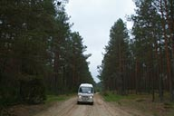 My road East Poland.