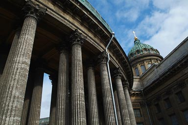 Kazan Cathedral, St. Petersburg.