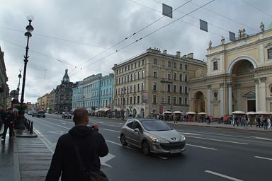 Nevsky Avenue, St. Petersburg.
